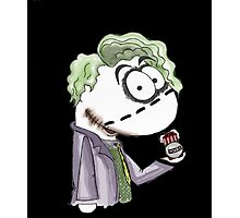 Joker sockpuppet Photographic Print