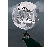 Wolf Link and Link Twilight Princess Photographic Print