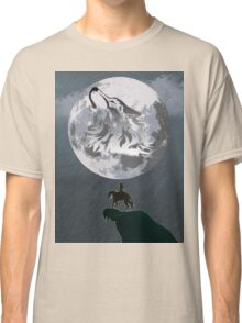 Wolf Link and Link Twilight Princess Classic T-Shirt