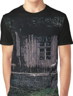 Cabin // Comic Style Graphic T-Shirt