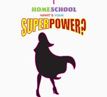 Homeschooling superpower! Women's Fitted Scoop T-Shirt