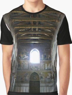 The Cathedral of Monreale ~ Wall Bibical Account Graphic T-Shirt