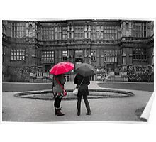 Red Brolly Poster