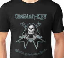 Obsidian Key - Falling Into The Dark - Skull, Guitars Unisex T-Shirt