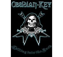 Obsidian Key - Falling Into The Dark - Skull, Guitars Photographic Print