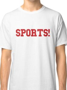 Sports - version 5 - red Classic T-Shirt