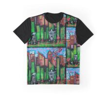 Robo World - City of Secrets Graphic T-Shirt