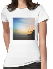 Beach 2 Womens Fitted T-Shirt