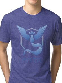 Team Mystic from Pokemon Go Tri-blend T-Shirt