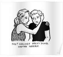 Feelings Aren't Dumb Poster