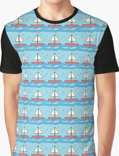 Sailing Boats on the Sea 2 Graphic T-Shirt