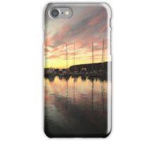 Sunrise marina iPhone Case/Skin