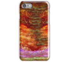Abstract Desert Sunset iPhone Case/Skin