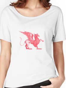 Red Griffin Women's Relaxed Fit T-Shirt