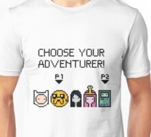 pixel Adventure Time Unisex T-Shirt