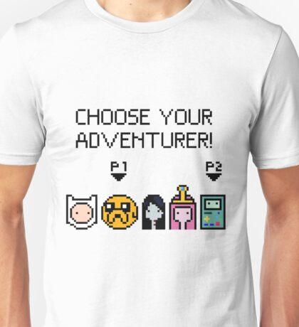 pixel Adventure Time Unisex T-Shirt