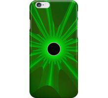black sun - green iPhone Case/Skin