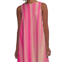 Abstract 090716(07) A-Line Dress