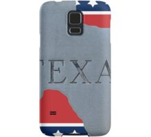 Welcome to the state of Texas Samsung Galaxy Case/Skin