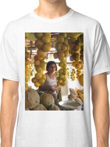 The Girl in the Santarem Brazil Market Classic T-Shirt