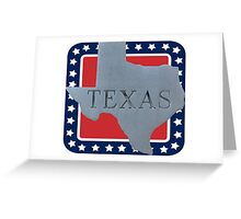 Welcome to the state of Texas Greeting Card