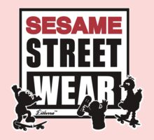 Sesame Street Wear Kids Tee
