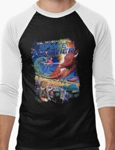Space Harrier Men's Baseball ¾ T-Shirt