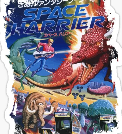 Space Harrier Sticker