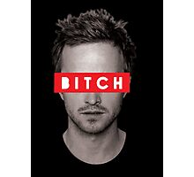 Jesse Pinkman - Bitch. Photographic Print