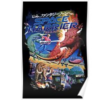 Space Harrier Poster