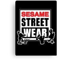 Sesame Street Wear Canvas Print