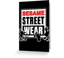 Sesame Street Wear Greeting Card
