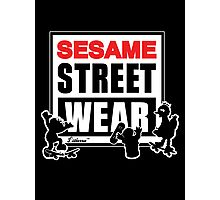 Sesame Street Wear Photographic Print