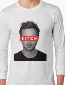 Jesse Pinkman - Bitch. Long Sleeve T-Shirt