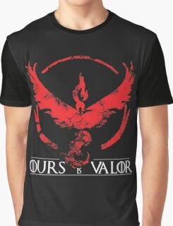 Team Valor (GoT + Pokemon GO!) Graphic T-Shirt