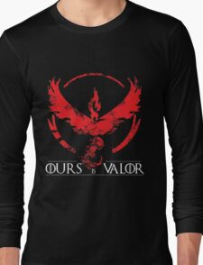 Team Valor (GoT + Pokemon GO!) Long Sleeve T-Shirt