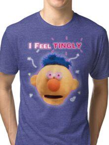 DHMIS - Tingly Don't Hug Me I'm Scared 3 Tri-blend T-Shirt