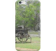 Antique Wagon on Farm iPhone Case/Skin
