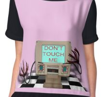 DHMIS - Bad Touch Don't Hug Me I'm Scared 4 Chiffon Top