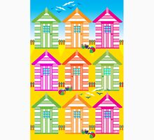 SUMMER BEACH HUTS Unisex T-Shirt