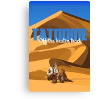 Travel: Tatooine Canvas Print