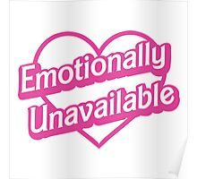 Emotionally Unavailable Poster