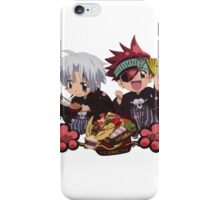 lavi and allen chibi iPhone Case/Skin