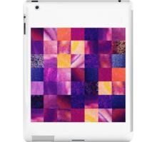 Geometric Design Squares Pattern Abstract V iPad Case/Skin