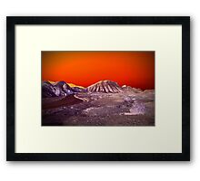 The Once and Future Malibu Framed Print