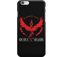 Team Valor (GoT + Pokemon GO!) iPhone Case/Skin