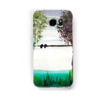 Scrubbing brush trees Samsung Galaxy Case/Skin