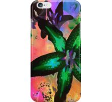 Watercolor Flower number tres iPhone Case/Skin
