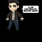 derek hale by Littleartbot