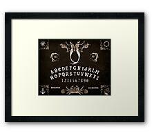 Maritime Ouija Framed Print